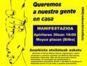 30-A: Manifestación antirrepresiva en Bilbao