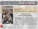 16-a Alcoi: Presentación del libro «Votar o decidir»
