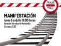 CGT convoca manifestación el 6 de julio en defensa del tren y empleo público en Aranda de Duero
