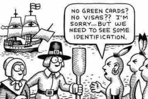 THE FIRST ILLEGAL IMMIGRANTS