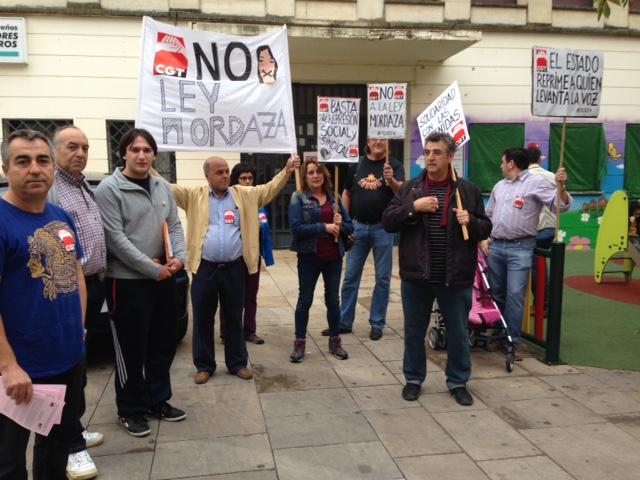 Concentración en Úbeda contra la represión