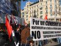 CGT se moviliza por el Convenio Colectivo. En Banco Santander de Madrid (C/Alcalá)