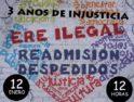 12-E Manifestación: Tres años de lucha x la justicia. #NoalEreTelemadrid #NoLeyTelemadrid