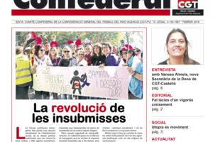 Notícia Confederal Febrer 2016