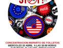 20-A: Acción contra el TTIP en Cantabria
