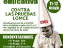 Huelga educativa contra las pruebas LOMCE convocada por CGT