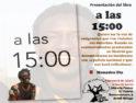 Presentación del libro «a las 15:00» de Mamadou Dia