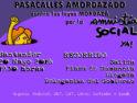 20-M: Pasacalles amordazado contra las Leyes Mordaza y por la Amnistía Social en Santander