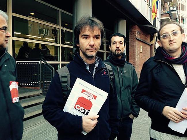 Ermengol Gassiot / Profesor de la UAB y secretario general de la CGT en Catalunya: «Desde 1966 una universidad no había denunciado a sus profesores»