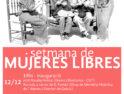 Semana de Mujeres Libres en Barcelona