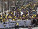 SFF-CGT exige soluciones al corte ferroviario de Granada