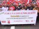 CGT llama a secundar la huelga contra la explotación laboral de la plantilla de Ferrovial