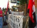Concentración contra los despidos en Global Rosetta