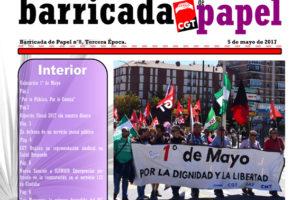 Barricada de Papel nº 8 – Mayo 2017