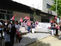 Concentración de CGT ante la Residencia de Mayores de Úbeda