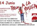 ASSDA en lucha, huelga y manifestación el 14 de junio en Málaga