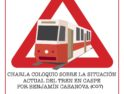 Charla En Defensa de un ferrocarril Público para tod@s en Caspe