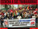 Concentración Zara-Lefties: Menos donaciones para lavar su imagen y más negociación colectiva