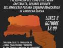 """Domingo 8 y lunes 9 de octubre: Charla de presentación del libro """"Civilización capitalista"""" en Madrid"""