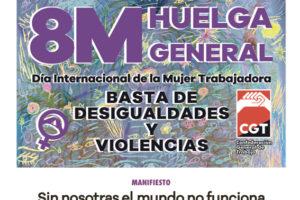 8 de marzo: Huelga General de las Mujeres