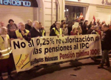 """[Vídeo] Manifestación en València XVIII Congreso CGT """"La lucha es el único camino"""""""