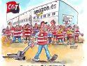 Huelga en Amazon España por un convenio justo