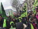 CGT muestra su solidaridad y apoyo al sindicalismo combativo francés en lucha contra la privatización del ferrocarril público