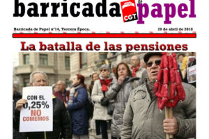 Barricada de Papel nº 14 – Abril 2018