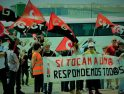 CGT protesta contra la represión sindical en Avanza Autocares