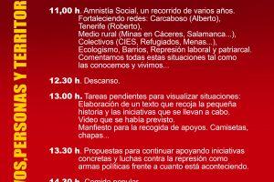 """Encuentro """"estatal"""" de Grupos y colectivos por la Amnistía Social"""