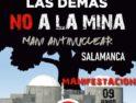 8J: Manifestación «Cerrar Almaraz y todas las demás» en Salamanca