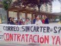 Convocatoria de paros en Correos-Pamplona