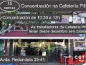 Abusos laborales en «Cafetería Pili» (Redondela)