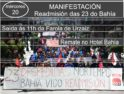 Movilizaciones por las 23 despedidas del Hotel Bahía Vigo