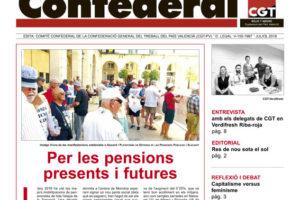 Notícia Confederal, julio 2018