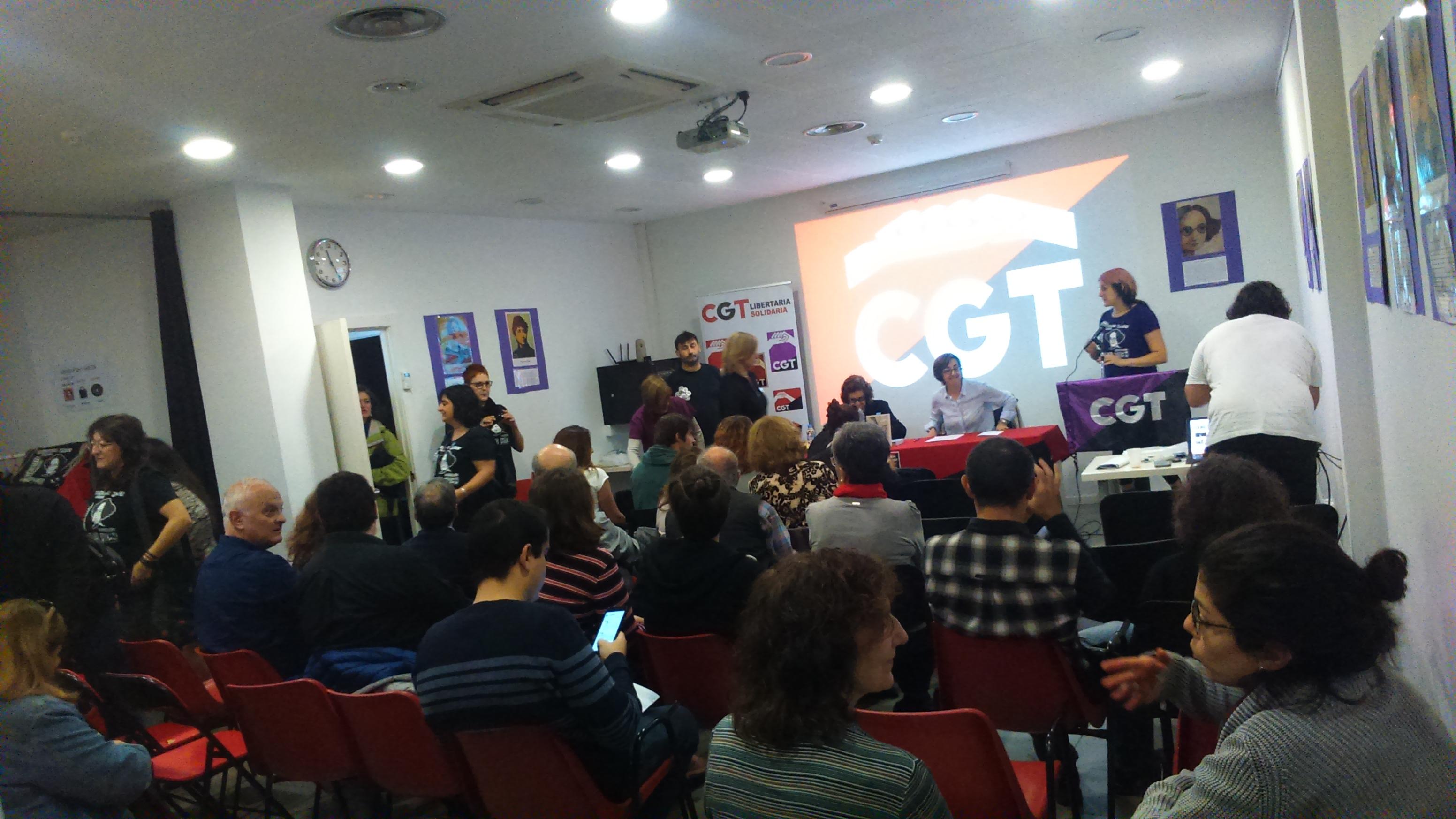 CGT inaugura otra nueva sede en Zaragoza con un homenaje a Amparo Poch