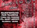 CGT-Castelló llama a participar en la manifestación antifascista del 9 de Octubre
