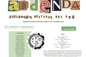 Addenda, suplemento cultural del RyN – Nº 63, noviembre 2018