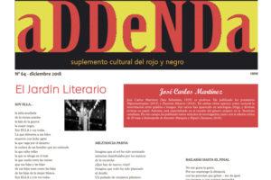 Addenda, suplemento cultural del RyN – Nº 64, diciembre 2018