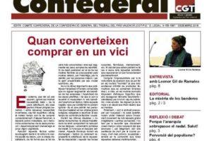 Notícia Confederal, diciembre 2018