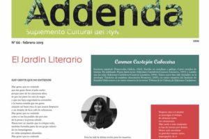 Addenda, suplemento cultural del RyN – Nº 66, febrero 2019