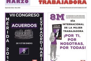 Especial 8 de Marzo 2019, Día Internacional de la Mujer Trabajadora: Huelga General