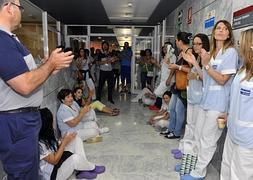 """El personal del servicio de limpieza de La Arrixaca comenzará un calendario de """"parones"""" a partir del lunes"""