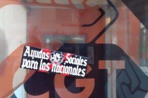 CGT de Zamora denuncia un ataque fascista en su sede