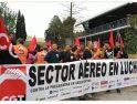 La plantilla de Madrid Barajas inicia movilizaciones por un convenio digno