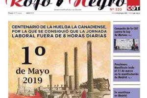 Rojo y Negro Nº 333, abril 2019