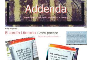 Addenda, suplemento cultural del RyN – Nº 69, mayo 2019
