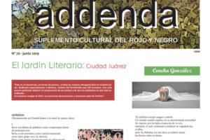 Addenda, suplemento cultural del RyN – Nº 70, junio 2019