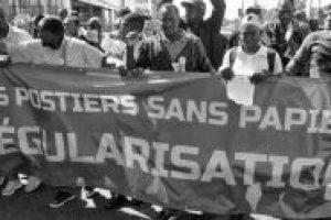 FRANCIA   ¡Apoyo a los trabajadores sin papeles en huelga desde hace mes y medio!