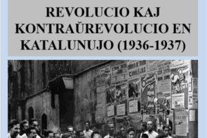 Traducción al esperanto del libro de Carlos Semprún-Maura «Revolución y contrarrevolución en Cataluña (1936-1937)»